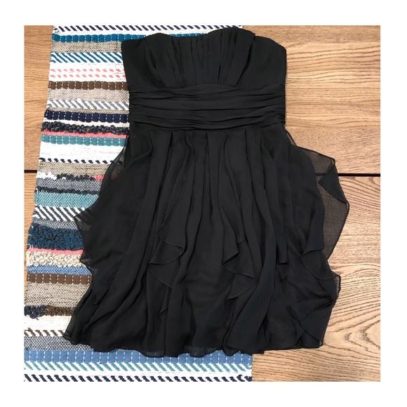 David's Bridal Dresses & Skirts - LIKE NEW | David's Bridal Strapless Chiffon Dress
